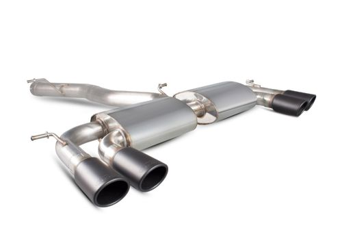 Volkswagen Golf MK7 R Non-resonated cat-back system with no valves - SVWS044C
